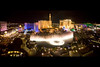 bellagio fountains and strip las vegas