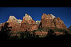 three patriarchs zion canyon utah