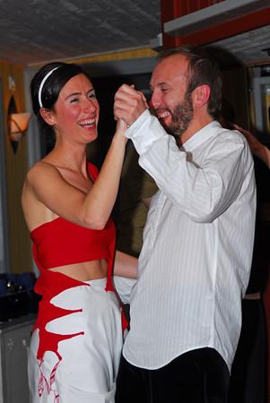 Mercedes & Jose hade tillsammans med alla sina brölloppsgäster åkt hela vägen från Vallencia i Spanien för att gifta sig