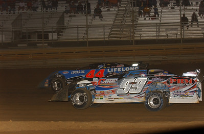 99 Donnie Moran and 44 Earl Pearson, Jr.