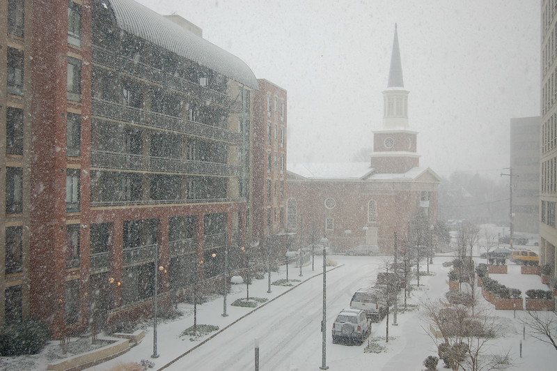 Blizzard in Virginia