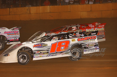 18 Brandon Kinzer and 53 Ray Cook