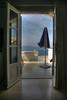 Our room in Villa Reno, Santorini, Greece