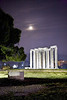 Temple of Zeus night 2 Athens Greece