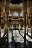 courtyard alhambra granada spain