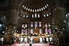 inside blue mosque istanbul