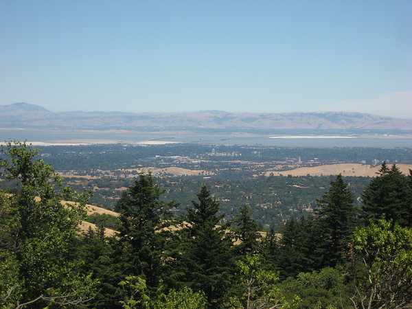 Bay Area from Windy Hill (Stanford is in the middle, look for the clock tower)
