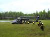 Kalskag fire crew loads up for demobilization.