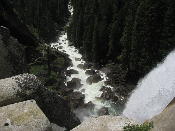 Vernal Falls/River in May