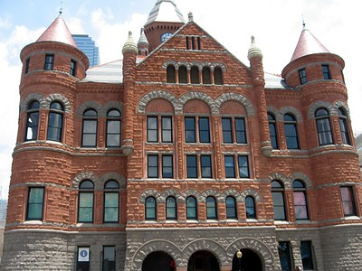 """Old Red,"" formerly the Dallas County Courthouse and now the Old Red Museum of Dallas County History & Culture"