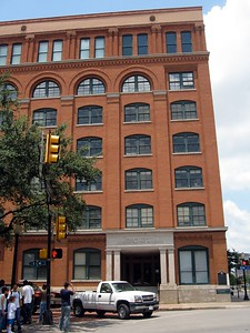 The former Texas School Book Depository