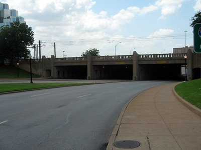 Heading towards the Triple Underpass on Elm Street