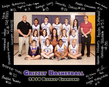 Zuni Hills Girls Basketball 2010