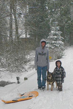 January Snow 2007