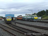 217 and 224 rest at Heuston Depot prior to their next duty. Thurs 09.08.07