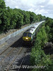 After working the 0725 Spl. ex Cork, 217 and its Mk4 set went empty stock to Cork and is seen at Stacumny Bridge. Sun 29.07.07