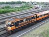 160 propels the vehicles back to the St. John Road Sidings. Fri 01.06.07