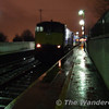 113 stands at Newry in awful weather with the 1900 Connolly - Belfast. Mon 05.03.07