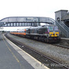 230 arrives at Portarlington with the 1325 Heuston - Limerick with 8 Mk3. Sat 10.03.07