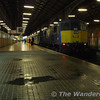 113 waits to depart for Belfast with the slightly delayed 1900 hrs service. Mon 05.03.07
