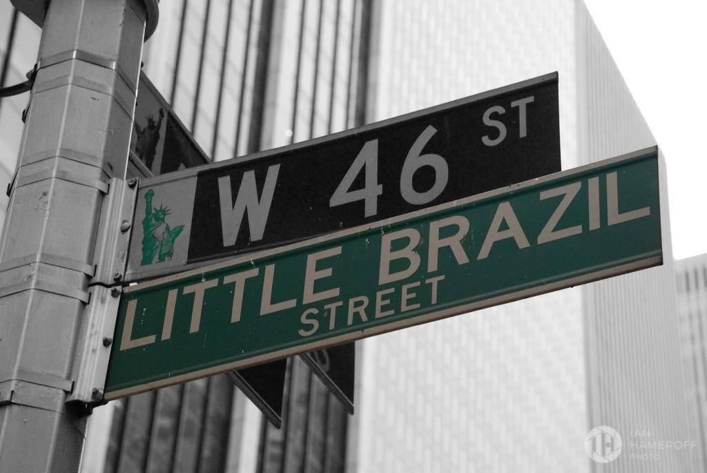 A Brasilian in New York