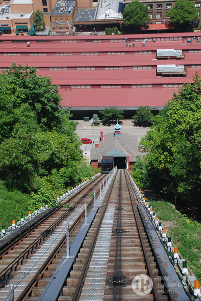 Descending the Monongahela Incline