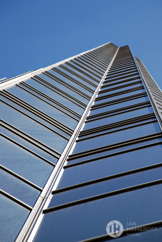 Glass Ladder to Blue Sky