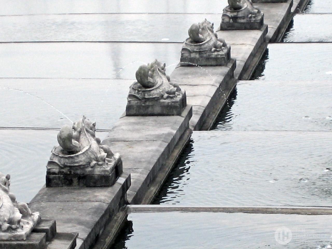 The Fountain Steps of Museu Paulista