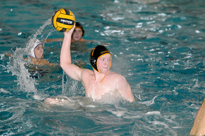 varsity water polo action