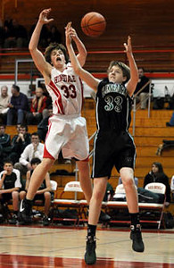 12/05/08 Hinsdale Central HS  Glenbard West vs Hinsdale Central boys sophomore basketball.  Scott Hardesty/www.starphotos.us