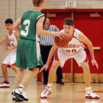12/1/08 Hinsdale Central HS  York vs Hinsdale Central boys soph basketball  Scott Hardesty/www.starphotos.us