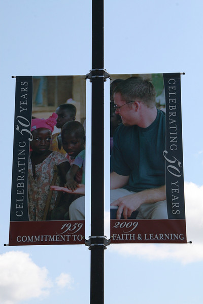 Mark Johnson on a mission trip to Ghana West Africa