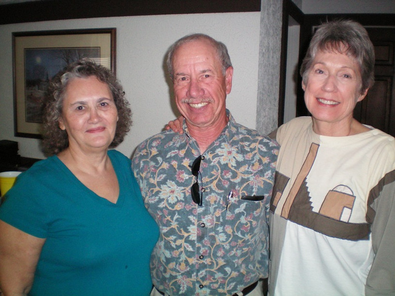 There were only three from the very first year who attended: Dona, David Coleman and Sylvia Eisenmann.
