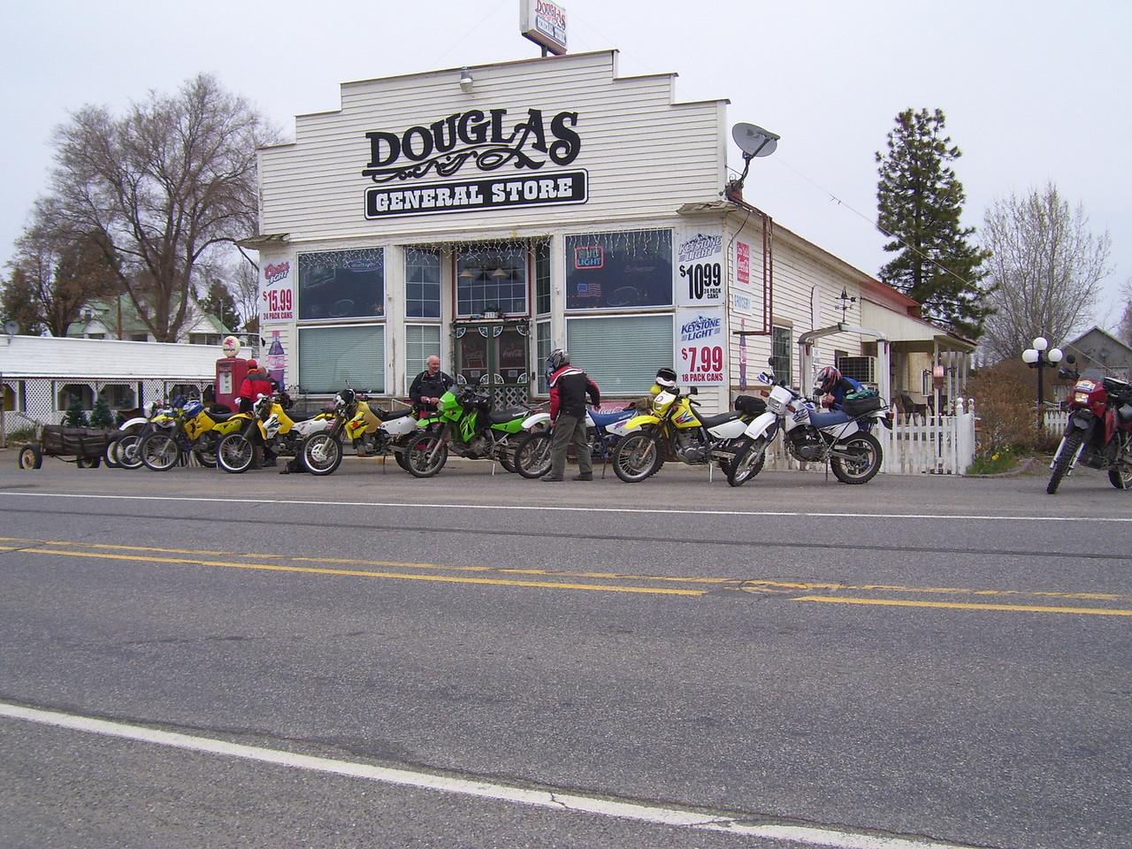 The big town of Douglas.