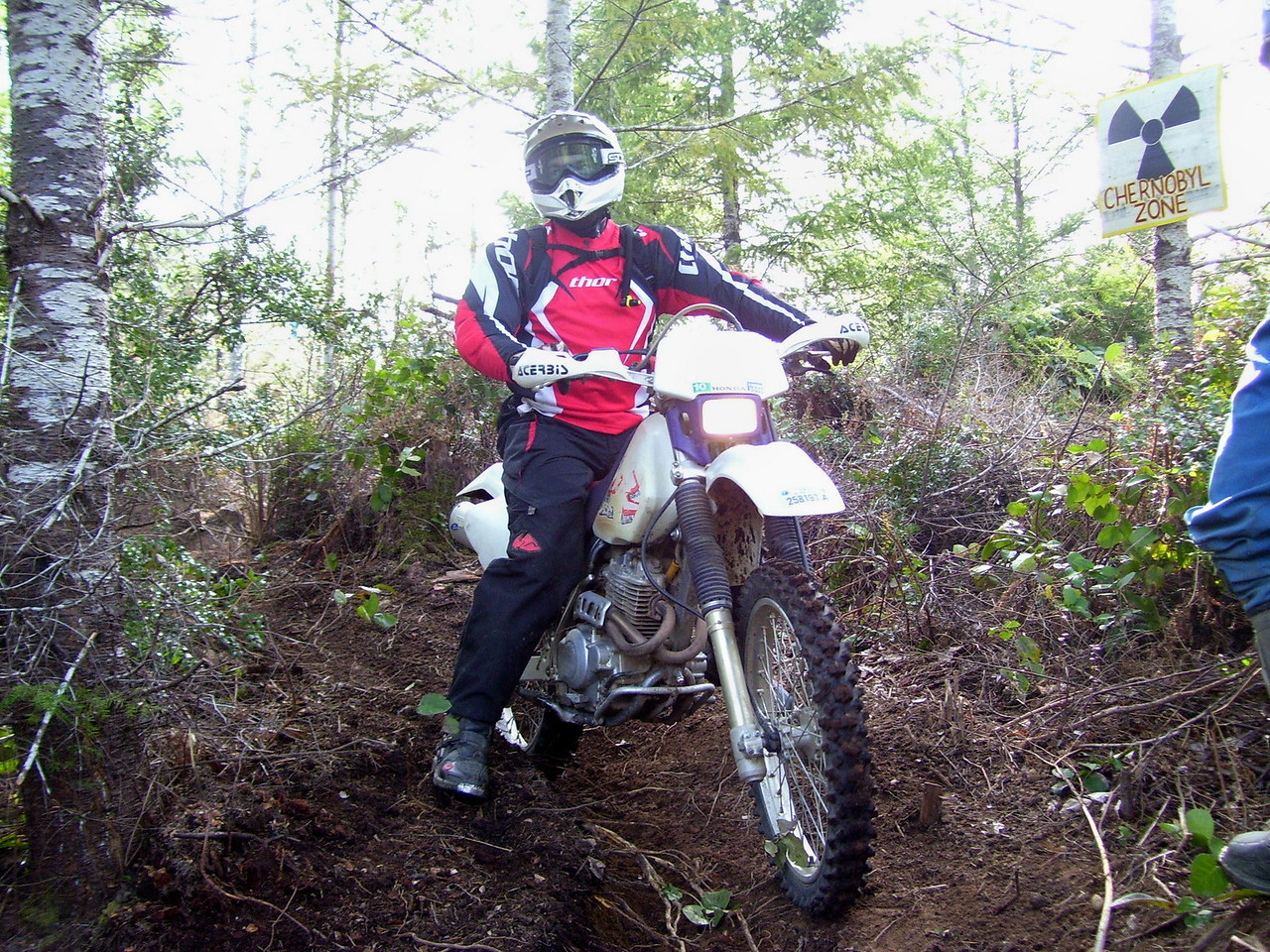 Brian & XR 250