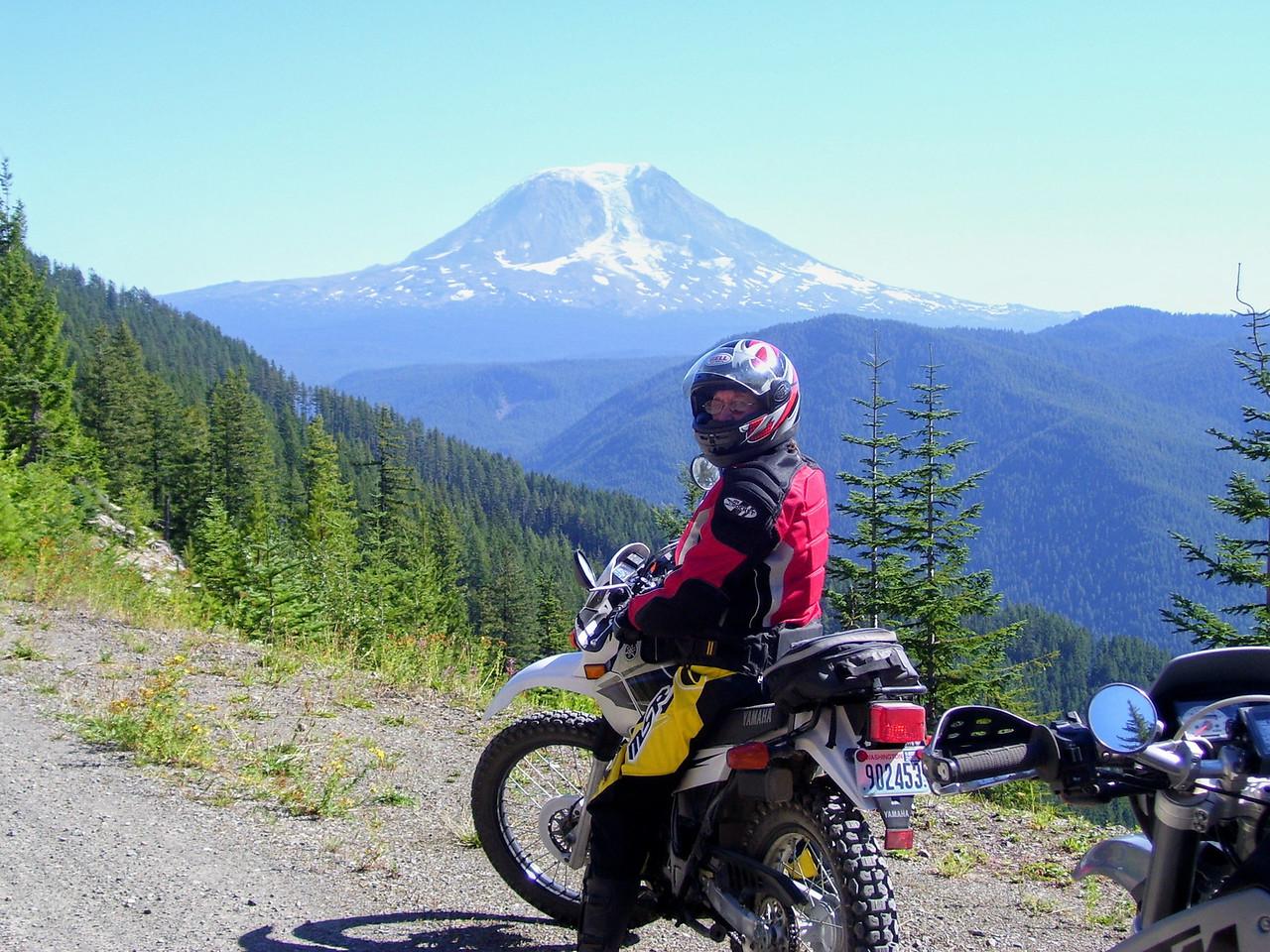 Mt. Adams from 7812
