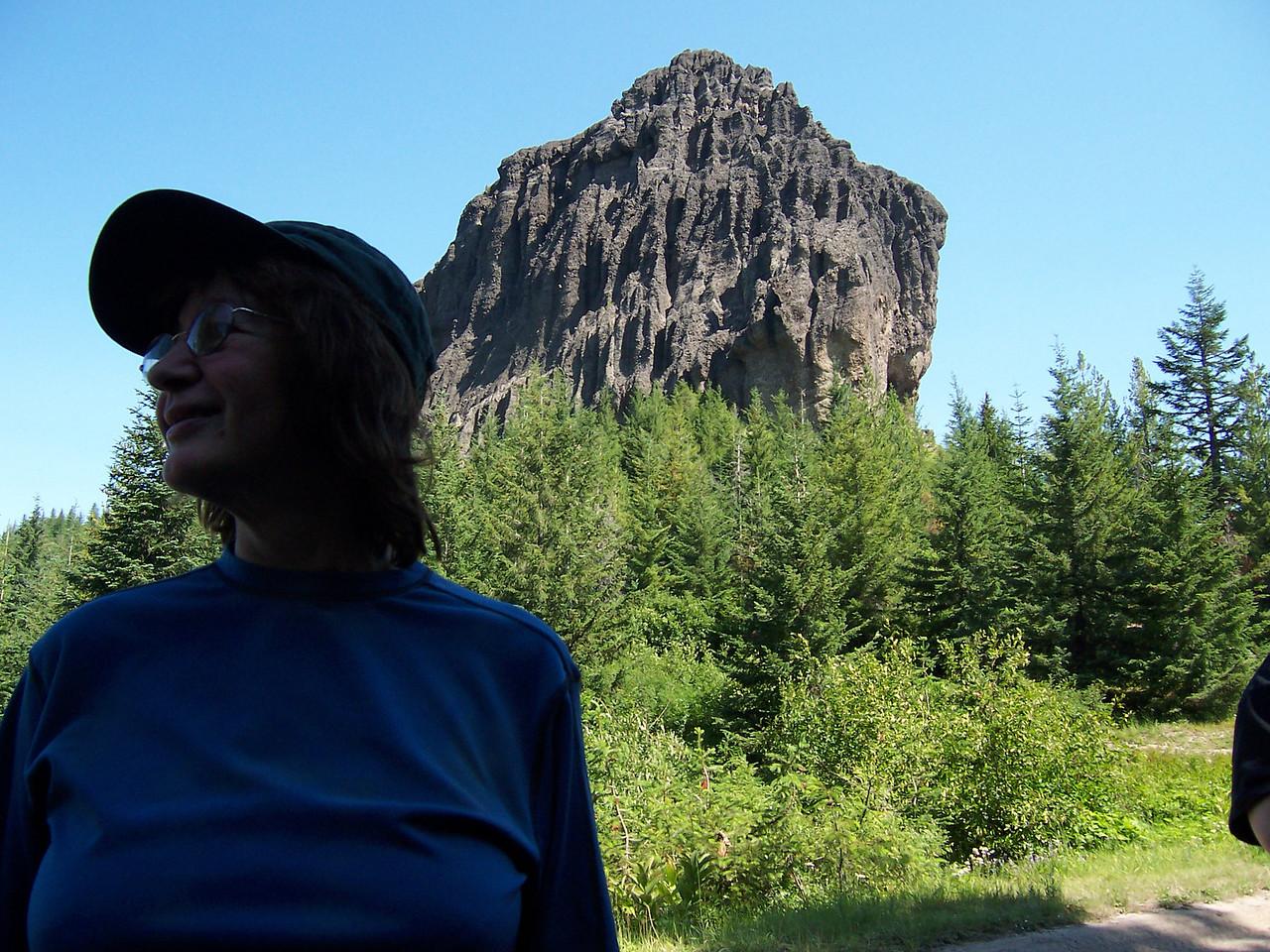Sylvia at Pinto Rock