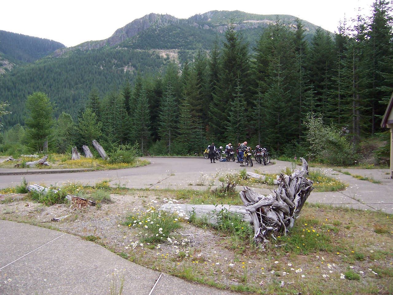 We decide to checkout the 26 road into Mt. St. Helens Monument.
