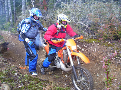 January ride in the Tahuya