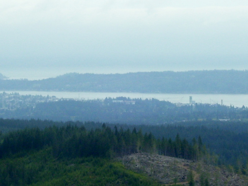 Bremerton from the top of Green Mt.