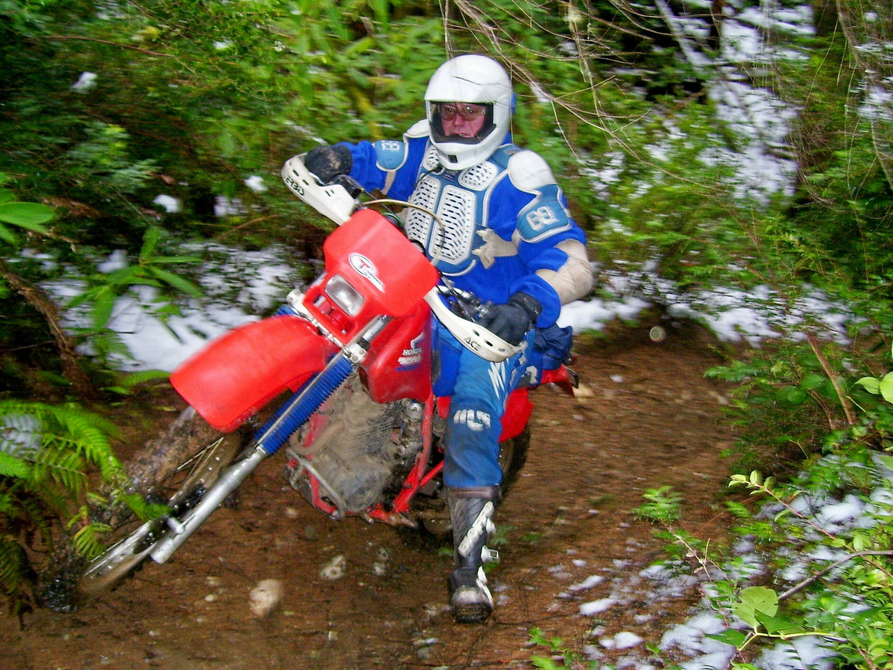Bill and his XR 350R