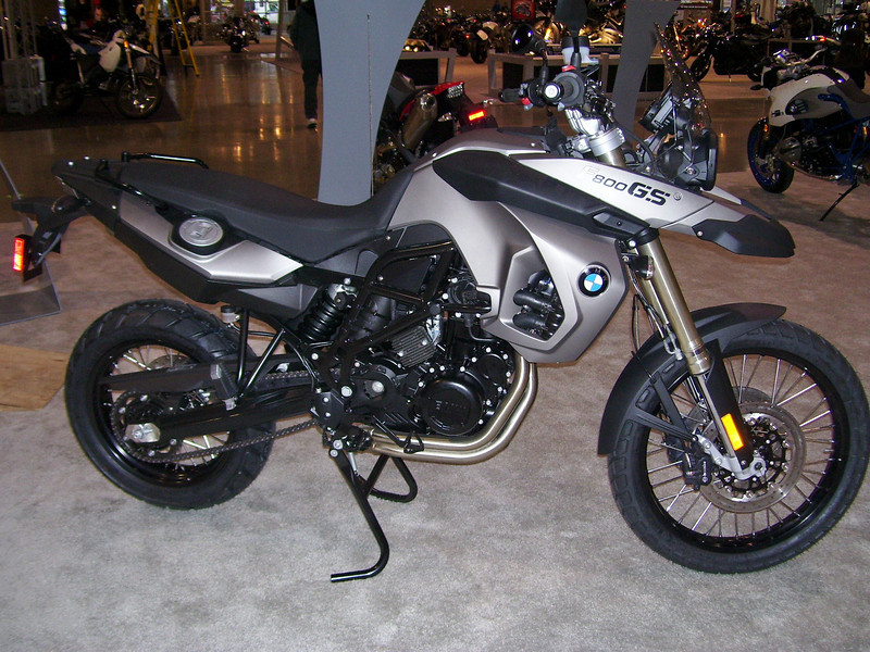BMW's new F800GS.