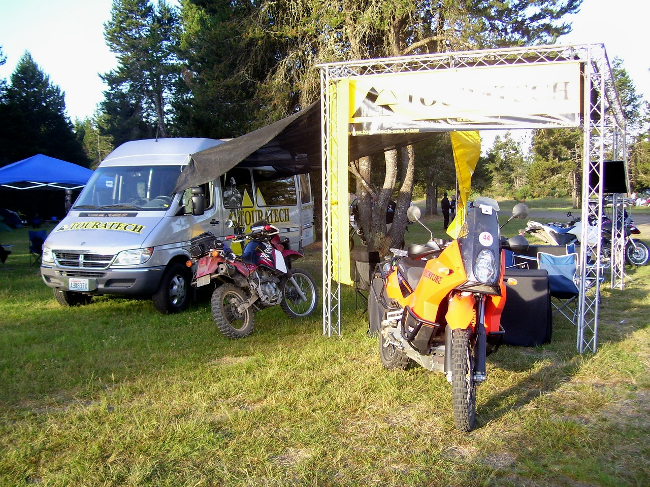 TouraTech was awesome. They provided dinner and entertainment Saturday and lunch Sunday, and many of the prizes. Thanks Tom and the TouraTech crew.!!