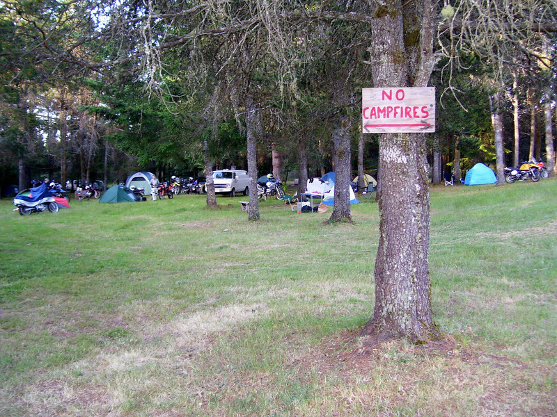 Camping area.