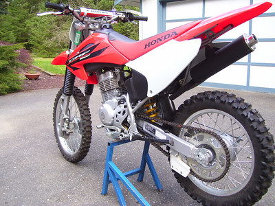 Sylvia's '06 CRF 150