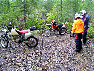 Three Wet Tahuya Trail Rides