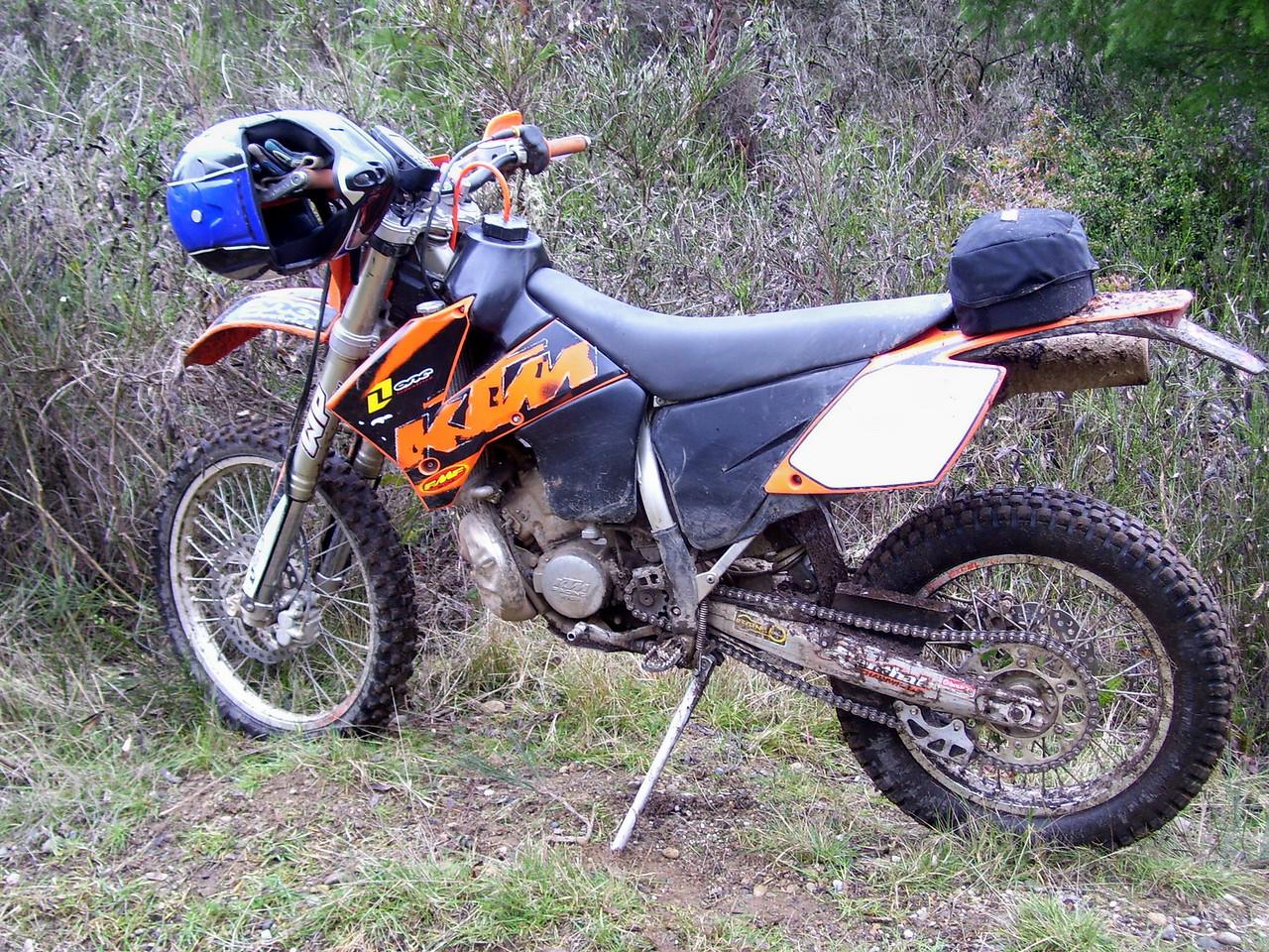 My 2005 KTM 200 EXC
