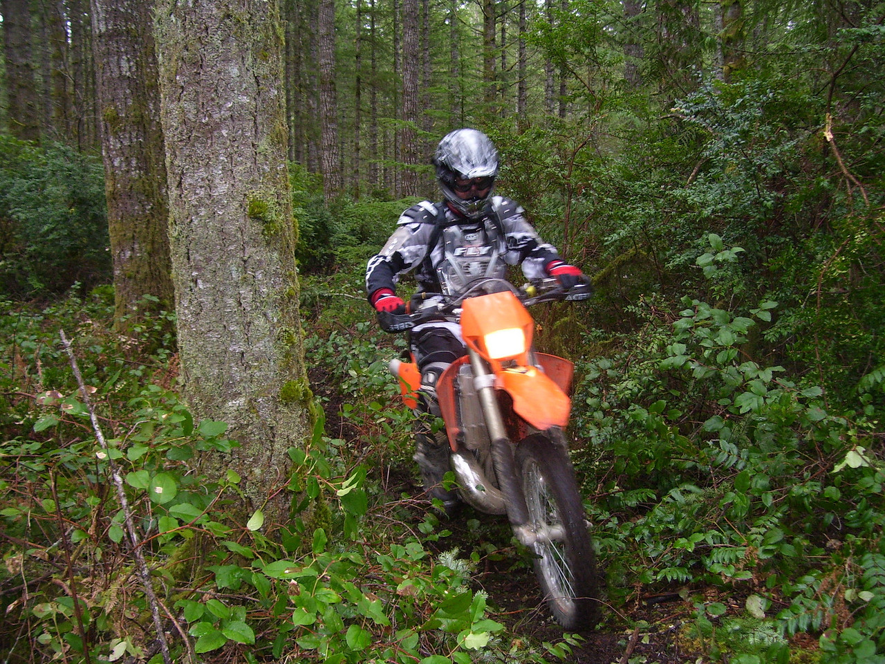 Marc on a KTM 300 EXC.