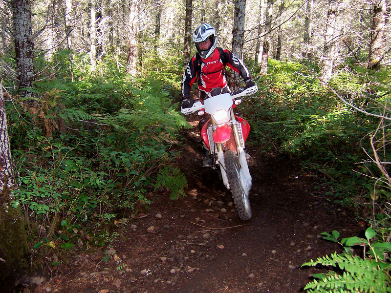 The farther we got away from the Fair Grounds the better the trails got.
