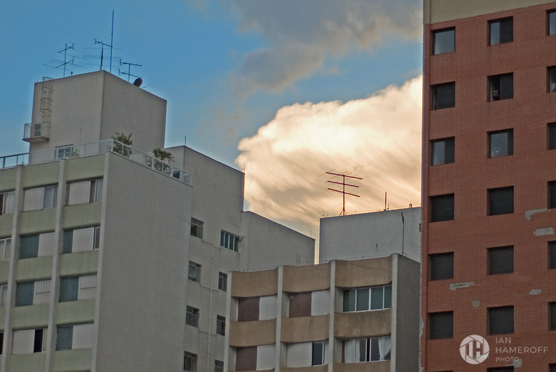 Dusk at the Apartments of Vila Madalena